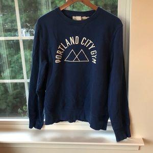 Portland Oregon Graphic Crew Neck Sweater